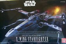 Bandai 1/72 Star Wars Model Kit Resistance X-Wing Starfighter Episode IV V