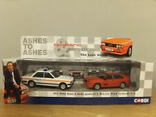 CORGI VANGUARDS ASHES TO ASHES AUDI QUATTRO FORD POLICE CAR MODELS CC02799 1:43