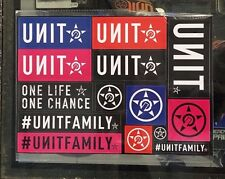 "UNIT STICKER SHEET 14 VARIOUS SPIN LOGO CAR WINDSCREEN ""CORPORATE"" MULTI PACK"