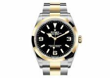 Rolex Explorer Men's Black Watch - 124273