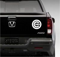 "Chicago Cubs Logo Vinyl Car Truck DECAL 5""  Window STICKER Graphic MLB Baseball"