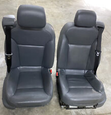 SAAB 9-3 93 Arc 2005 CONVERTIBLE SEAT ASSEMBLY LEATHER FRONT LEFT And RIGHT Grey