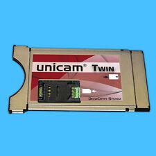 Unicam CI CAM Modul UNICRYPT Deltacrypt Twin Hardware Level 3.0 twincam FULL HD