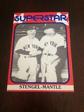 1982 Mickey Mantle Red Border Superstar Card #90 Nr/mt/mt