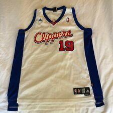 Reebok Sam Cassell Los Angeles LA Clippers #19 White Jersey XL Vintage