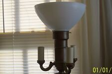 Glass Diffuser for Antique Floor Lamp that has Huge Mogul Socket