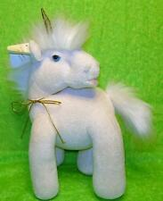 Vintage Heartline Graphics International UNICORN Plush 1984 Stuffed Terry Animal