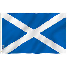 ANLEY Scottish Flag Scotland Banner Polyester 3x5 Foot Country Flags