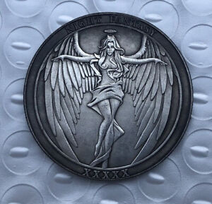 US Hobo Nickel COINS, Crafts Female Devil / Angel Creative Coin souvenir Coin