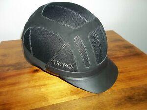 BLACK TROXEL HELMET MEDIUM