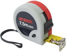 7.5m X 32mm Double Locking Jumbo Measuring Tape - Amtech