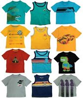 Tee Shirt Boys Toddler Baby Kids Children T Tank Top Short Sleeve Graphic Shirts