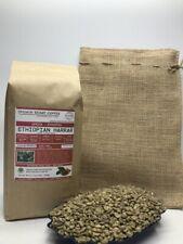 1lb/30lb - Ethiopian Harrar Natural – Premium Unroasted Green Coffee Beans