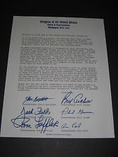 Congress Of The United States House Of Representatives Letter 1984 Ron Paul