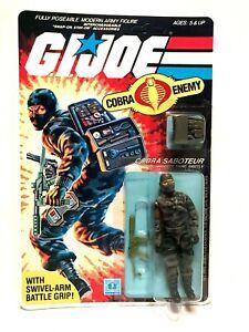 GIJOE 1984 COBRA FIREFLY MOC Sealed on U.S. PEACH Card G.I. JOE GI JOE