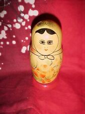 Vintage, Russian Stacking Dolls With Russia Tag On Bottom