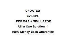 3V0-624 Vm Ware certified Advanced Professional 6.5Data Center QA PDF&Simulator