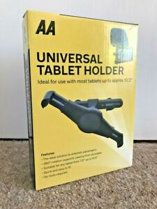 AA Universal Tablet Holder for Car Ipad Galaxy Android 360 Rotation