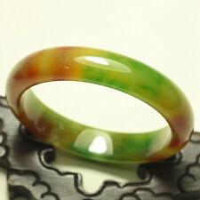 Jadeite Jade Bracelets Bangle 1365 58mm Certified (Grade A) Natural Multi-Color