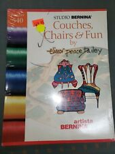 Couch, Chairs, Fun Embroidery