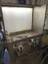 Washout Booth Screen Printing Equipment
