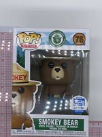Funko POP! Smokey Bear #76 Funko Shop Exclusive Vinyl Figure O03