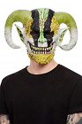 Horned Demon Overhead Mask, Latex NEW
