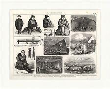 Kamtschadalen Kamtschatka Kajak Grönland Brockhaus Bilder Atlas Ethnographie 29