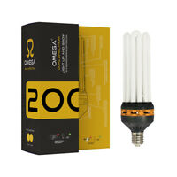 OMEGA DUAL SPECTRUM 125W 200W 300W 450W CFL Bulbs High Output Hydroponics