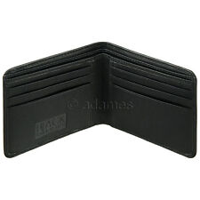 Slim Leather Wallet by Golunski : Men's Wallet in Smooth Soft Black Leather