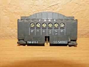 SIEDLE 15899 KLEMMBLOCK ZU TM 611-1