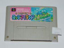 Super Famicom Yoshi´s island (cartucho/cartridge)