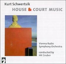 Schwertsik: House and Court Music - HK Gruber, Vienna Radio S.O. (CD, 1998, EMI)