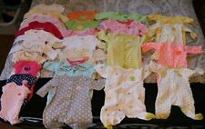 Baby Girls Clothes/Swaddle/Sleepers Lot of 30 Size Newborn/0-3 Months Winter