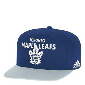 Toronto Maple Leafs NHL Adidas Snapback, One size, Blue/Grey