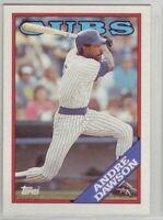 1988 Topps Baseball Chicago Cubs Team Set