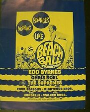 """""""BEACH BALL"""", 1965 PRESS BOOK HERALD"""
