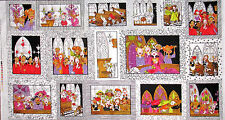 Loralie Harris Fabric - Church Ladies Religious Choir Singing In Church - Panel