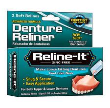 Dentemp D.O.C. Reline-It, Advanced Denture Reliner