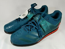 Adidas Powerlift 3.1, BA8014, Weightlifting, Teal with Orange, Men's 16, New
