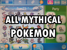 All 19 SHINY MYTHICAL Pokemon 6IV - Pokemon Home