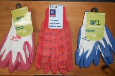 2 Pair of Wells Lamont Womens Gardening Gloves, Nitrile Coated, Pro Touch grip