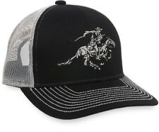 Winchester Embroidered Horse & Rider Logo Mesh Back Cap