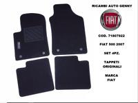 TAPPETI MOQUETTE ORIGINALI FIAT NUOVA 500 2007 ANT+POST 71807922