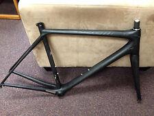 Pristine Stealth Black Scott Addict 56/L superlight carbon road bike frame fork