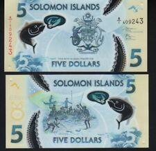 ISLAS SALOMON / SALOMON ISLANDS 5 DOLLARS 2019 SC / UNC