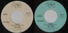 "Bee Gees - Fanny  mono/stereo - 1975 U.S. promo 7"" vinyl"