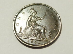 1862 Victoria Penny 1d Collectable Variety Research BETTER Grade #K95