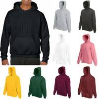 Mens Sweatshirt Hooded Blank Pullover Hoody Cotton Solid Design Casual Sports XL