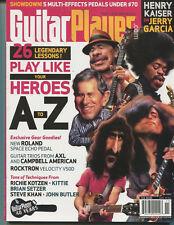 Guitar Player Nov 2007 Jerry Garcia AXL Campbell American  Richie Kotzen  MBX46